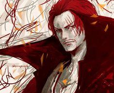 Shanks Credits to Red Hair Shanks, Es Der Clown, Pirate Island, One Piece World, The Pirate King, One Piece Images, Kairo, 0ne Piece, Best Fan