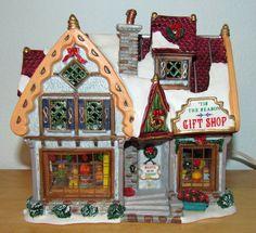 Lemax Christmas Caddington Village Lighted Building Tis The Season Gift Shop MIB