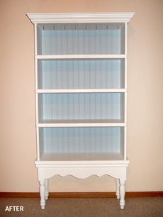 regular bookshelf + low table = cabinet or fancy bookshelf.