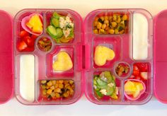 26012014 - strawberries, pineapple, lettuce/cucumber/feta/tomato-balsamic dressing, polenta, coconut chickpea spinach stew, yoghurt, walnuts