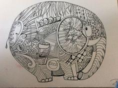 Big dirty elephant