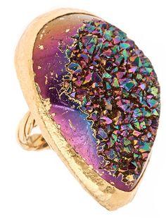 Gorgeous Quartz Ring
