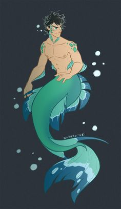 Ehi guys! It has been a while since I drew Percy and I realized I had never done a mer-Percy (unbelievable) #PercyJackson #Pjo #HoO #Merman Male Mermaid, Mermaid Man, Mermaid Drawings, 3d Drawings, Arte Percy Jackson, Japon Illustration, Mermaids And Mermen, Wow Art, Merman