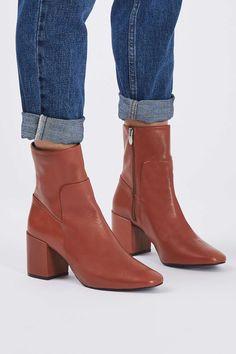 763eb7516926b MINT Pointed Ankle Boots. AbsatzLederAbsatzschuheSchuh ...