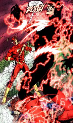 The Flash - Barry Allen is...The Black Flash!