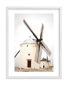 """Consuegra"" - Art Print by Sharon Rowan in beautiful frame options and a variety…"