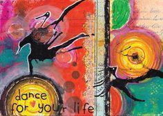 Kreativt uttrykk ♥ Kunst- og uttrykksterapi: Dance for your life  RESOLVE