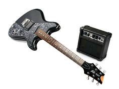 Retro Fire Electric Guitar   $99  Best way to annoy your siblings! Get their kids this electric guitar!