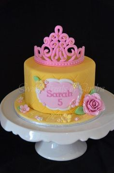Princess Birthday Cake - Cake by Sandra
