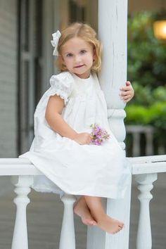Toddler Classic Summer Lace Flower Girl Dress