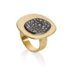 Todd Reed Jewelry, Mixed Metal Ring, Womens Fashion, Designer Jewelry, Womens Gold Ring, Womens Modern Diamond Ring, Womens Organic Metal Ring, Recycled Metal Ring, Womens Everyday Fashion