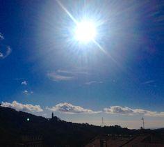 Il mare brilla all'orizzonte The sea shines on the horizon :)  Montegrazie - Imperia - Riviera Dei Fiori - Liguria - Italy