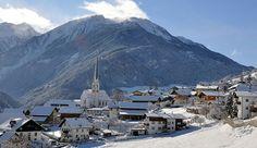 Die Ortschaft Wenns im Winterkleid #DachTirols #Pitztal