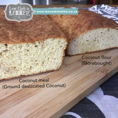 Victory bread - Sourdough type LCHF bread - Low Carb is Lekker - Low Carb is LEKKER Lchf, Banting, I Cant Even, Coconut Flour, Healthy Fats, Banana Bread, Low Carb, Meals, 4 Years