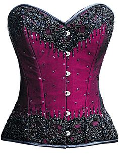Check out this item on The Violet Vixen Burlesque Glimmer Pink Beaded Corset #thevioletvixen