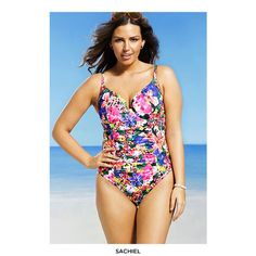 e28dac934d1c2 One-Piece Printed Swimsuit with Tummy Control - Assorted Styles at 71%  Savings off