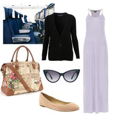 Super comfy yet chic look for the Leaving on a Jet Plane #travel #outfit