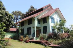 Trika Eco Resort main guesthouse with serene views