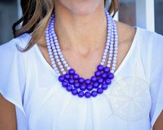 ON SALE $2.99!  This fabulously-fun bubble necklace will make you feel bright and bubbly!