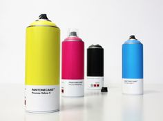 Ok I have officially decided that pantone should get into spray cans manufacturing. My life would be made..