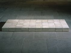 Carl Andre - Equivalent VIII (1966) | Tate (Londen) | Minimalisme
