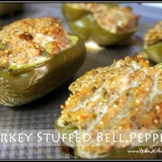 Clean Eat Recipe :: Turkey Stuffed Bell Peppers ~ He and She Eat Clean