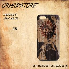 Supernatural Anime Art For Iphone 5/5S Case Gift Present - Multiple Choice Material