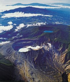 The Poas Volcano crater has a geyser-like and is the largest in the world. Next to the volcano is Botos Lagoon. Costa Rica