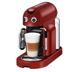 Nespresso Maestria Kapselmaskin C500 (röd) - Elgiganten