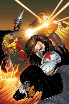 Jon Malin - Thunderbolts vrs Squadron Supreme