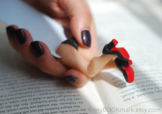 Cabaret legs bookmark in  Louboutin black shoes. Sexy book marker. For him, dude, dad, boss,  Great Gatsby 20s