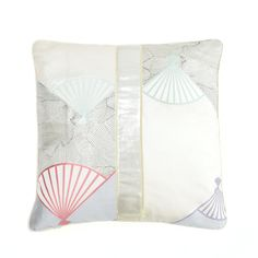 Tymo Limited Edition Vintage Wedding Kimono Fabric Cushion: Accentuate your space with this exquisite hand made cushion. The elegant fabrics come from pristine bolts of vintage Japanese fabric intended for women's wedding kimonos, which naturally makes these cushions a limited edition. Product details: - cushion cover: 100% hand printed cotton - cushion pad: organic cotton with polyester fill - dimensions: 40 x 40 cm - machine wash on cold gentle cycle or dry clean If you have any questions…