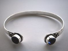 Blue Quarz Bangle €32.00