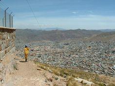 BOLIVIA | Bolivia foto da cidade vista de cima