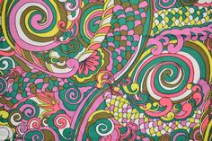60s Psychedelic Print