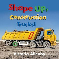 Full-color photographs feature construction vehicles. Geometric shapes discernable on the vehicles are digitally highlighted for easy identification, and rhyming text names both the shape and the truck. A final spread directed at caregivers shares age-appropriate enrichment activities for toddlers learning to identify shapes. On sturdy stiff paper pages.