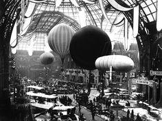 Salon de locomotion aerienne, Grand Palais, Paris, 1909