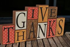 I Hold All The Cards; EASY DIY Thanksgiving 2x4 craft.