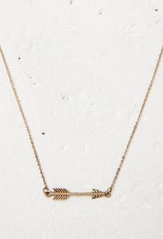 Arrow Charm Shortline Necklace | Forever 21 | #f21accessorize