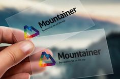 Mountainer Logo Template by @Graphicsauthor