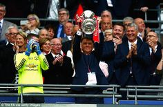 Current United boss Louis van Gaal insists he has nothing to prove after winning the FA Cu...