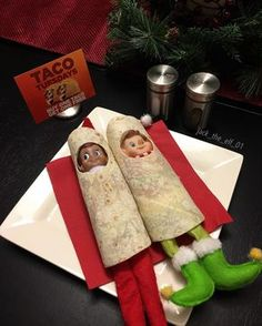 "62 Likes, 8 Comments - Jack The Elf On The Shelf (@jack_the_elf_01) on Instagram: ""Day 5: What day is today? Tuesday...Taco Tuesdaaaay #doscontodoporfavor #elfontheshelf…"""