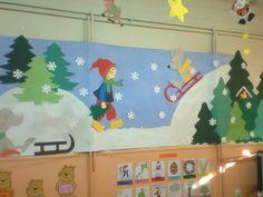 Νηπιαγωγός από τα πέντε...: ΒΙΒΛΙΑ ΜΕ ΑΝΟΙΧΤΑ ΠΑΤΡΟΝ ΓΙΑ ΧΕΙΜΩΝΙΑΤΙΚΗ ΔΙΑΚΟΣΜΗΣΗ Christmas Crafts For Kids To Make, Christmas Projects, School Decorations, Christmas Decorations, Decor Crafts, Diy Crafts, Winter Bulletin Boards, Classroom Arrangement, Penguin Craft