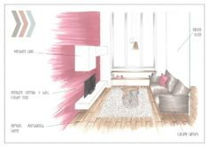 Marker render of the Lounge for Mrs Barnay - http://alexgoldsworthy.weebly.com/mrs-barnay.html