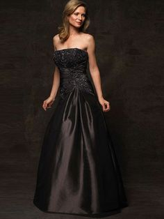Strapless Formal Dress For Mothers