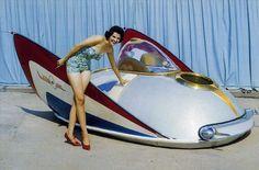 Weird Cars, Cool Cars, Strange Cars, Chris Waddle, Stray Cats, Retro Futuristic, Us Cars, Future Car, Amazing Cars