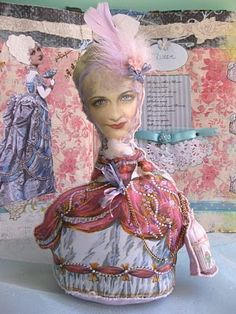 Holly Loves Art: My Latest Doll... Marie Antoinette