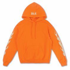Orange Flame Sweatshirt  - Seventeen.com