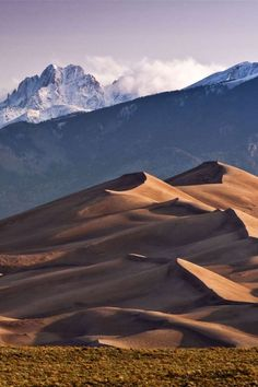 Where: Great Sand Dunes National Park, ColoradoWhy We Love It: While the Sangre de Cristo Mountains ... - Getty Images