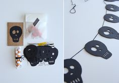 Halloween mini party in an envelope. A sweet little tutorial by Lovely Indeed.